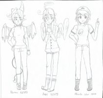 3 Different forms of GZV by GabbyZVolt25