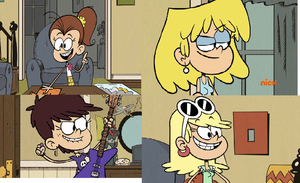 My Favorite The Loud House Female Characters by Bart-Toons
