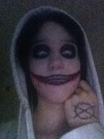 Jeff The Killer Cosplay 50 % complete by TrollFaygo