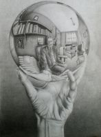 Escher's Sphere by Revolution825