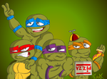 TMNT: REBEL by gagaman92