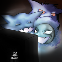 The Gastly Brothers by Cabriola
