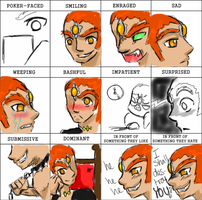 Expression meme Ganondorf by girloveslink