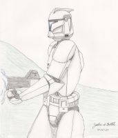 Pastel Pencil Study by Tribble-Industries