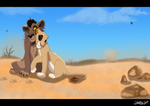 My Lioness by Nuka by Shembre