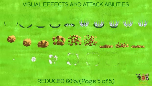 WHIMSY CREATURES - VFX and Attack Abilities by Resa11