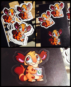 Stickers!!! by tea-tiger