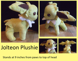 Chibi Jolteon Plush For Sale:Make an Offer by KatzeFisch