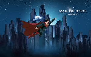 Man of Steel by HBsuperman
