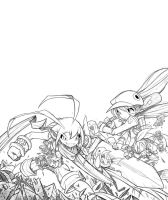GameFan Cover 07 WIP 03 by RobDuenas