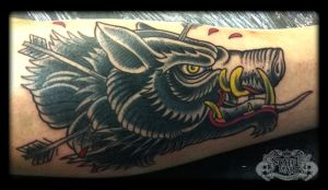 Boar by state-of-art-tattoo
