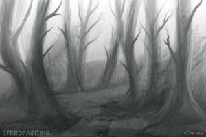 Deadwood1::speed painting by BonePileStudio