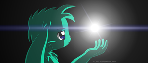 It all begins with a light by MarwanGreenCritter