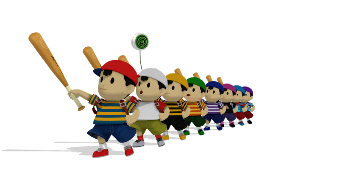 [MMD] SSB Wii U Ness DL by ShadowlesWOLF