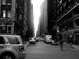 Manhattan alley by blackheartedlove