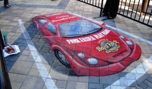 Hard Rock Casino - Parked Car by AmazingStreetPaint