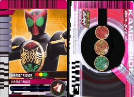 Kamen Ride OOO card by 070trigger
