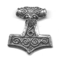 Raven Thor's Hammer by dragonscalearts