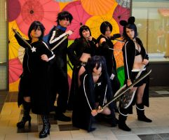 Black Rock Shooter group by SparksMcGhee