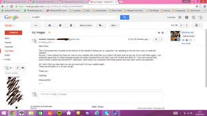 My Email To The Site. by WhiteWolf155