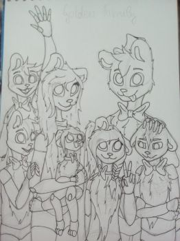 Golden Family  by ask-thefreddys