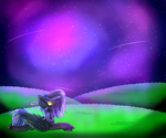 MLP ~ Star Gazing [Gift/Fanart] by Aritina