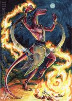 ACEO Firedancer by Sysirauta