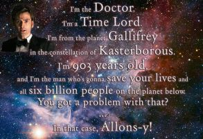 I'm The Doctor by MyFavoriteLetterisQ