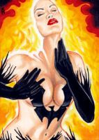 Phoenix Sketch Card 2 by veripwolf