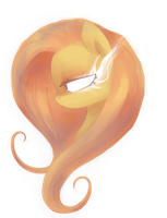 The great and powerful Fluttershy by Hickepop
