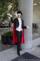 Tuxedo Mask and His Usual Rose by Stormfalcon