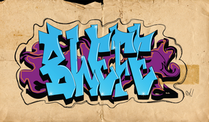 BLEFE Graffiti by alvaro93