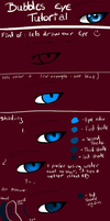 bubbles eye tutorial by bubblepup