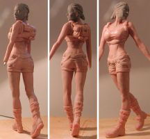 lara Croft walking wip 4 by lussybussy