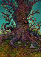 Hallow Tree by eldeivi
