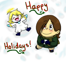 Holidays 2011 by explodingcrayon93