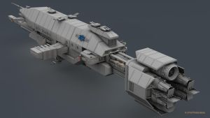 B5 Warlock Destroyer WIP 14 by 2753Productions