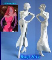 Jessica Rabbit wip01 by celsoryuji