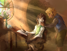 the point of this was to draw frodo wearin glasses by murr-ma-ing