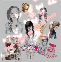 Pack cositas de chicas~PNG by IlyEditions