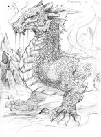 Glaurung Sketch by DKuang