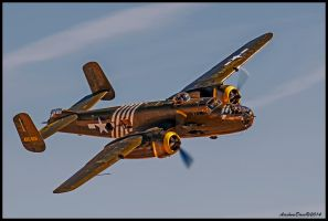 B-25 Executive Sweet by AirshowDave