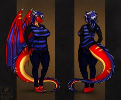 Faviana Ref Sheet - commission for Favian (2/2) by Eliana-Asato
