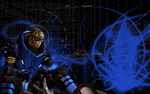 ME2: Garrus Background by xor101