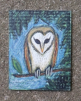 Jareth Owl ACEO by hawthorne-cat
