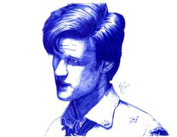 Matt Smith Sketch by Cloisterphillic