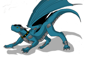 Wyldfire the epic dragon of awesomeness by Wyldfire7