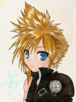 FFVII: Cloud by sparkyTH