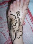 Henna foot design 2 by ChibiButterfly