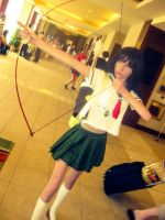 Ready and shoot! Kagome! by lilburi4ever